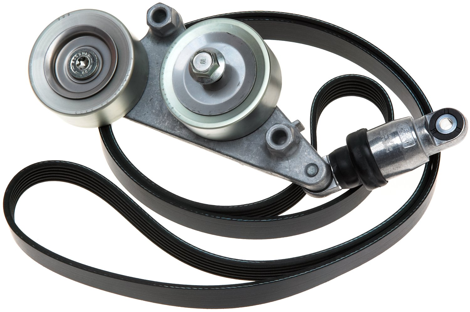 ACDelco ACK060841K1 Professional Accessory Belt Drive System Tensioner Kit by ACDelco