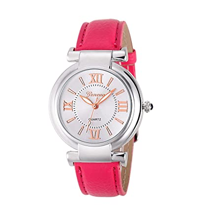 Relogio feminino Quartz Watch Women Girl Roman Numerals Leather Band Wrist Bracelet Watch Hot Selling Women