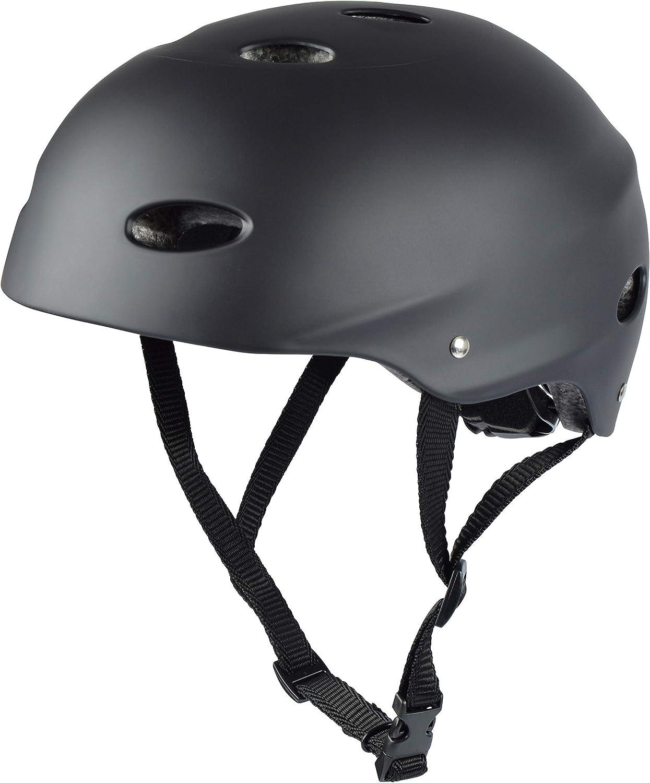 Apollo Casco para Skate/Bicicleta de la Marca Casco Ajustable para Skate, Scooter, BMX, con botón Giratorio Adecuado para niños y adultes, Disponible en Diversos tamaños y Colores…
