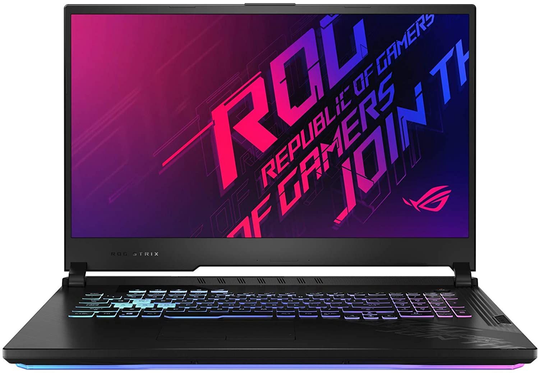"ASUS ROG Strix G17 G712LU-RS73 Enthusiast (i7-10750H, 8GB RAM, 1TB NVMe SSD, GTX 1660Ti 6GB, 17.3"" FHD 120Hz, Windows 10) Gaming Notebook"
