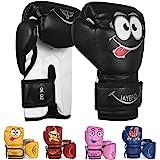 Jayefo Kids Boxing Gloves Boxing Gloves for Kids 4 6 OZ Training MMA Boys Girls Punching Bag Gloves Kickboxing Muay Thai Yout
