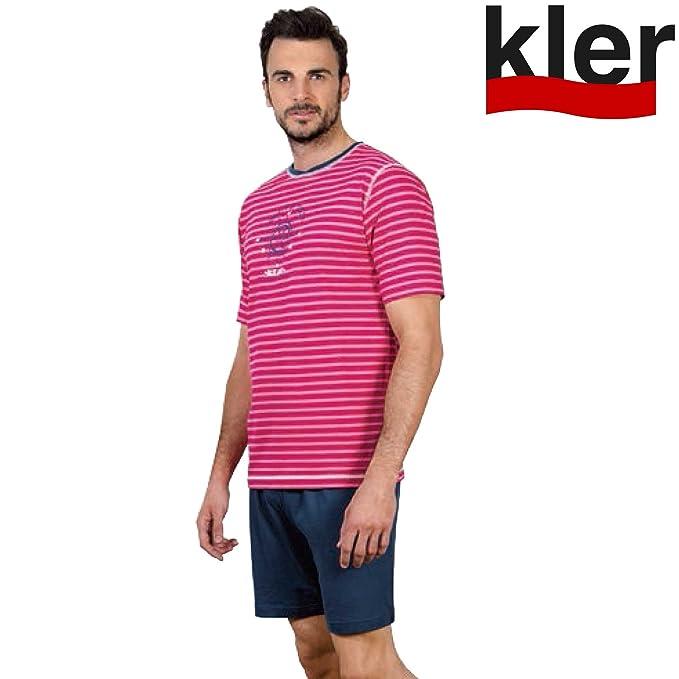 KLER - Pijama Hombre Marinero Hombre Color: Sorbete Talla: Medium ...