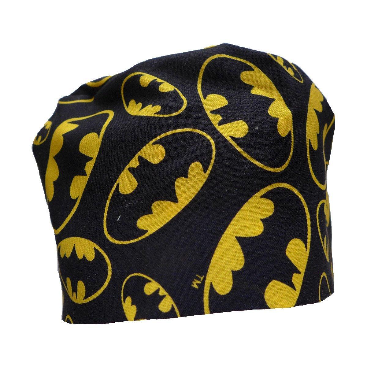 Sew1ForMe!! S1FM! Men's Scrub Cap, Batman, Handmade, Bamboo French Terry S1FM1365