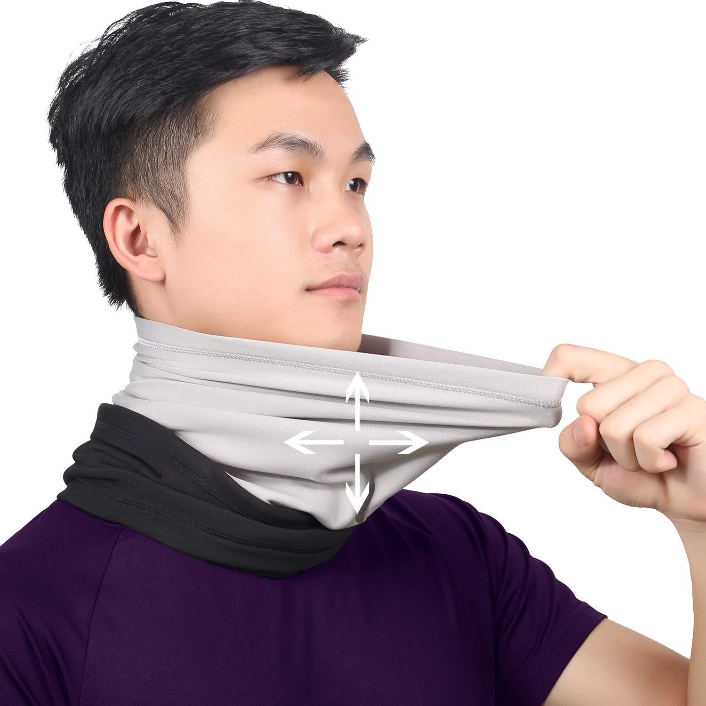 Keep Warm Guangzhou Qinglonglin Apparel CO .LTD QL-G025-AA-02 Polar Fleece Adjustable Neck Gaiter Windproof Ski Mask for Men /& Women Qinglonglin Neck Warmer Cold Weather Face Mask Tactical Balaclava Hood