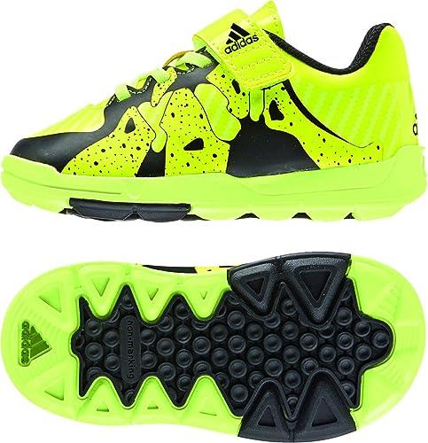 adidas FB X Infant - Zapatillas para niños, Color Lima/Negro/Azul, Talla 23: Amazon.es: Zapatos y complementos