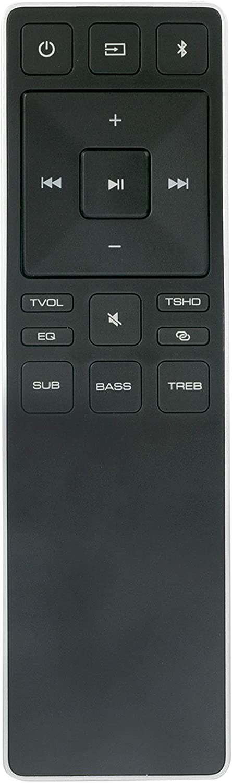 XRS551-D Remote Control Compatible with Vizio Sound bar Home Theater SB4051-D5 SB3821-D6 SB3821-D6B SB3821-D6B-RB
