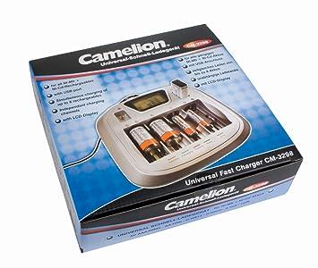 Camelion 20003298 - Cargador universal rápido, en caja fuerte ...