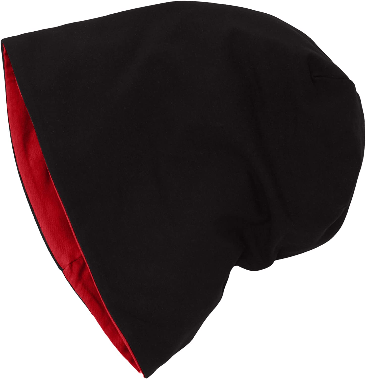 Master Dis Jersey Reversible Beanie 10 Colours Beany Hat Wool Wolle Wollm/ütze Red Black