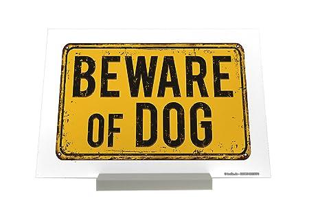 Soporte Fotografias Raza Cuidado perro Letrero Decoración