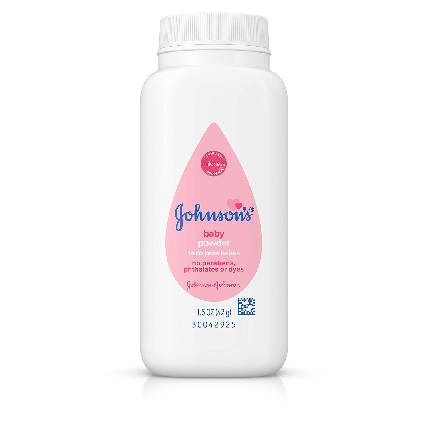 Johnson's Baby Powder, Hypoallergenic and Paraben Free, 1.5 oz (Packaging May Vary) Johnson's Baby Powder Johnson' s 22004