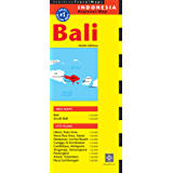 Bali Travel Map Ninth Edition (Periplus Travel Maps)