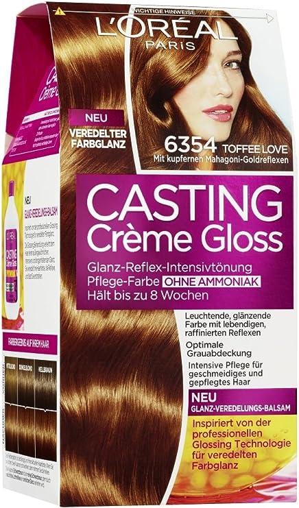 LOréal Paris casting Creme Gloss, 6.354 caramelo Amor, 1er ...