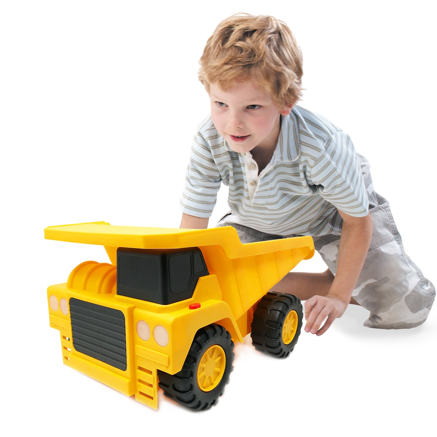 Toy Trucks For Boys : Large dump truck toy for boys kids toddler