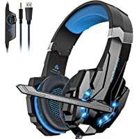 Noise Cancelling Stereo Gaming Headset Over Ear Headphones for PS4 PC Xbox One Controller…