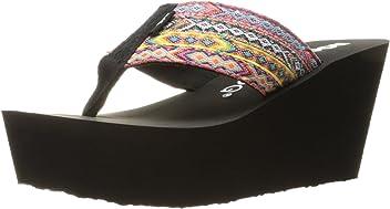 67b46bc435a7 Rocket Dog Women s Diver Webster Fabric Wedge Sandal