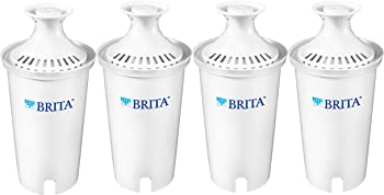 4-Pack Brita Standard Replacement Filters for Pitchers and Dispensers