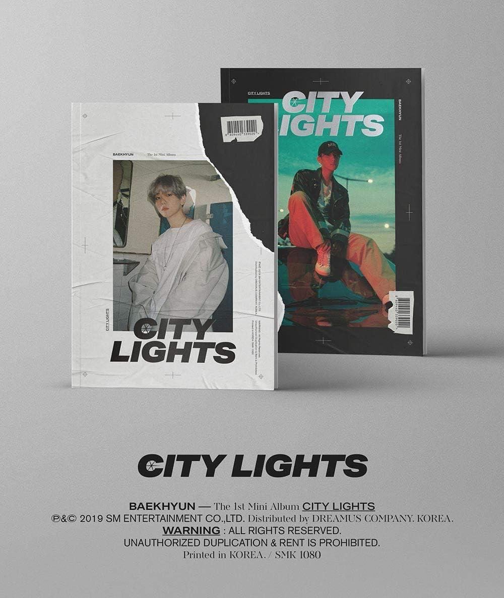 Amazon Com Sm Entertainment Baekhyun City Lights Day Night Ver