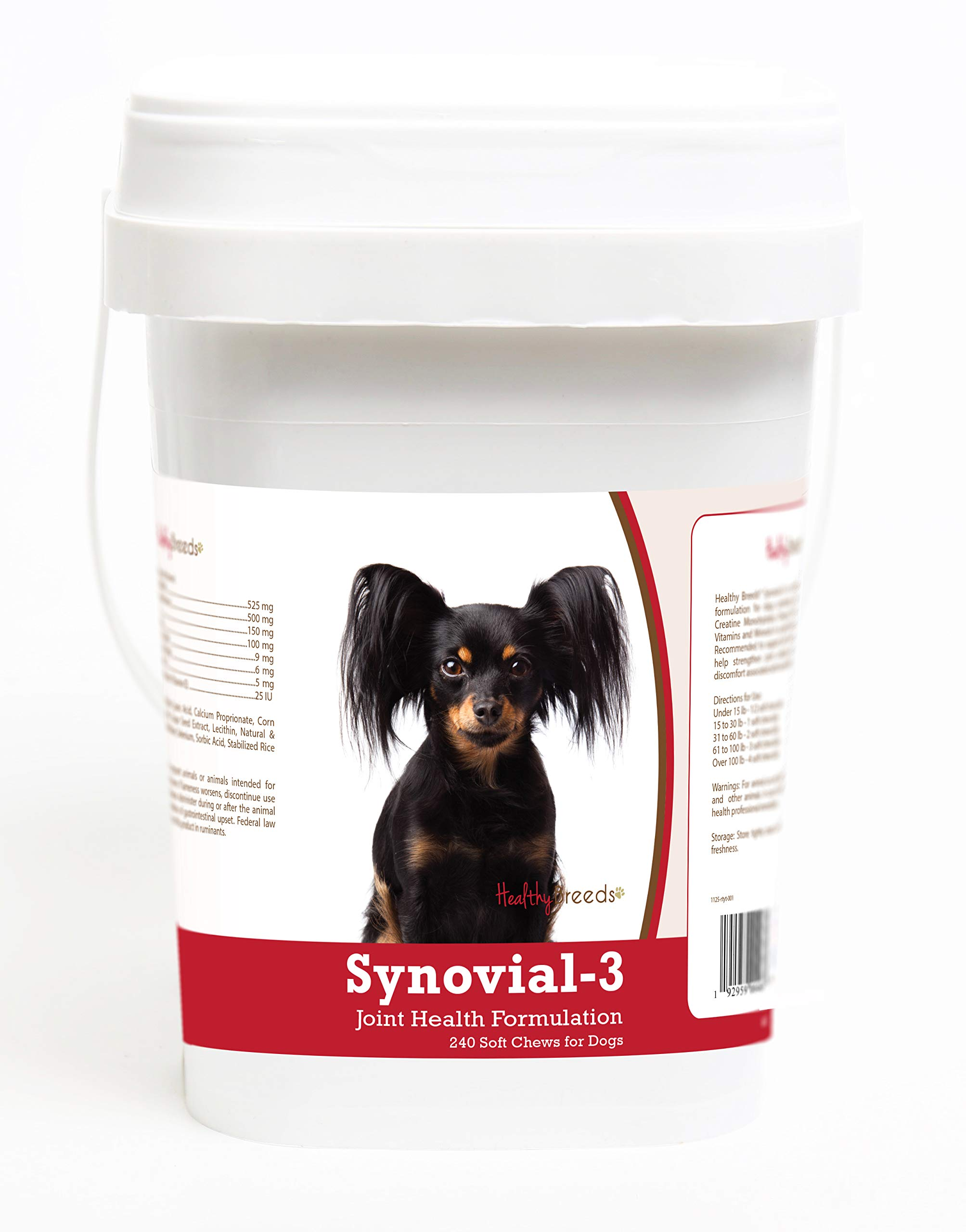 Healthy Breeds Russian Toy Terrier 240 Synovial-3 Joint Support