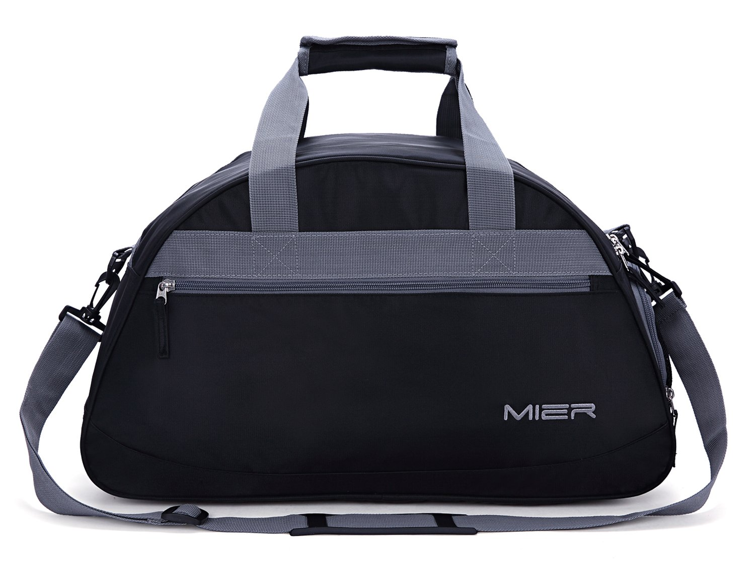 MIER Gym Bag Sports Holdall Weekend Travel Duffel Bag with Shoes Compartment  for Women and Men f798483ab61f3