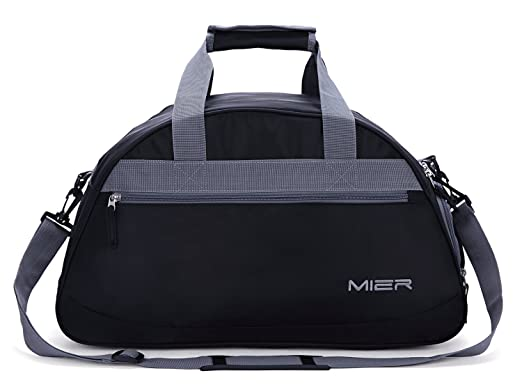 MIER 20inch Sports Gym Bag Travel Duffel With Shoes Compartment For Women And Men