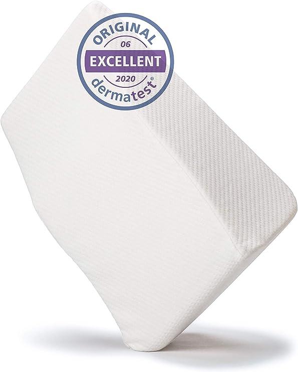 Well B4 Care Vein Pillow For Legs Leg Raiser Cushion With Cover Leg Wedge Cushion For Raising Legs 62 X 40 X 26 Cm White Küche Haushalt
