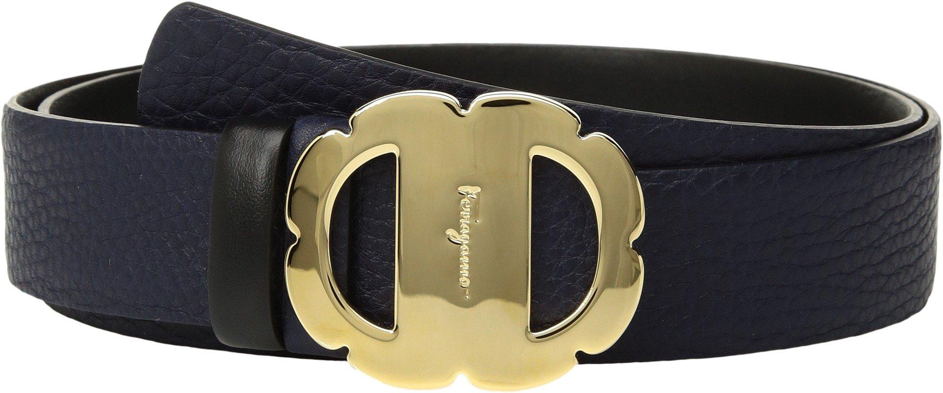 Salvatore Ferragamo Women's 23B509 Belt Mirto 100 (40'' Waist)