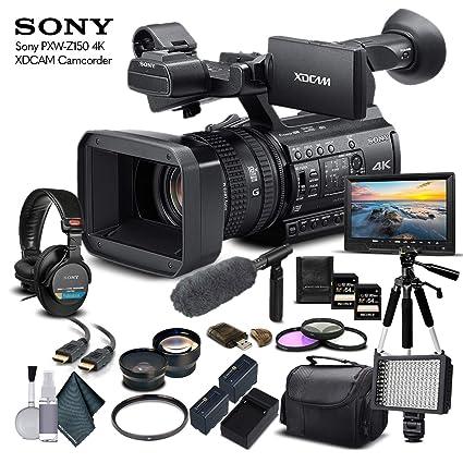 Amazon.com: Sony PXW-Z150 - Videocámara 4K XDCAM (PXW-Z150 ...
