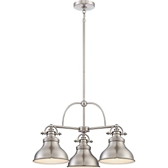 quozel lighting. quoizel er5103bn three light chandelier quozel lighting