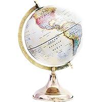 """Decorativo escritorio decoración de la mesa multicolor color giratoria World Globe 13""""Pulgadas mapa del mundo con soporte por"""" El Sr. Globo """""""