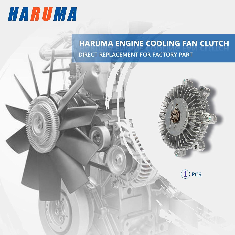 96-98 Sidekick 99-04 Vitara; for 1999-2004 Chevrolet Tracker Radiator Engine Cooling Fan Clutch 930-2560 2680 Engine Cooling Fan Clutch for 99-05 Suzuki Grand Vitara