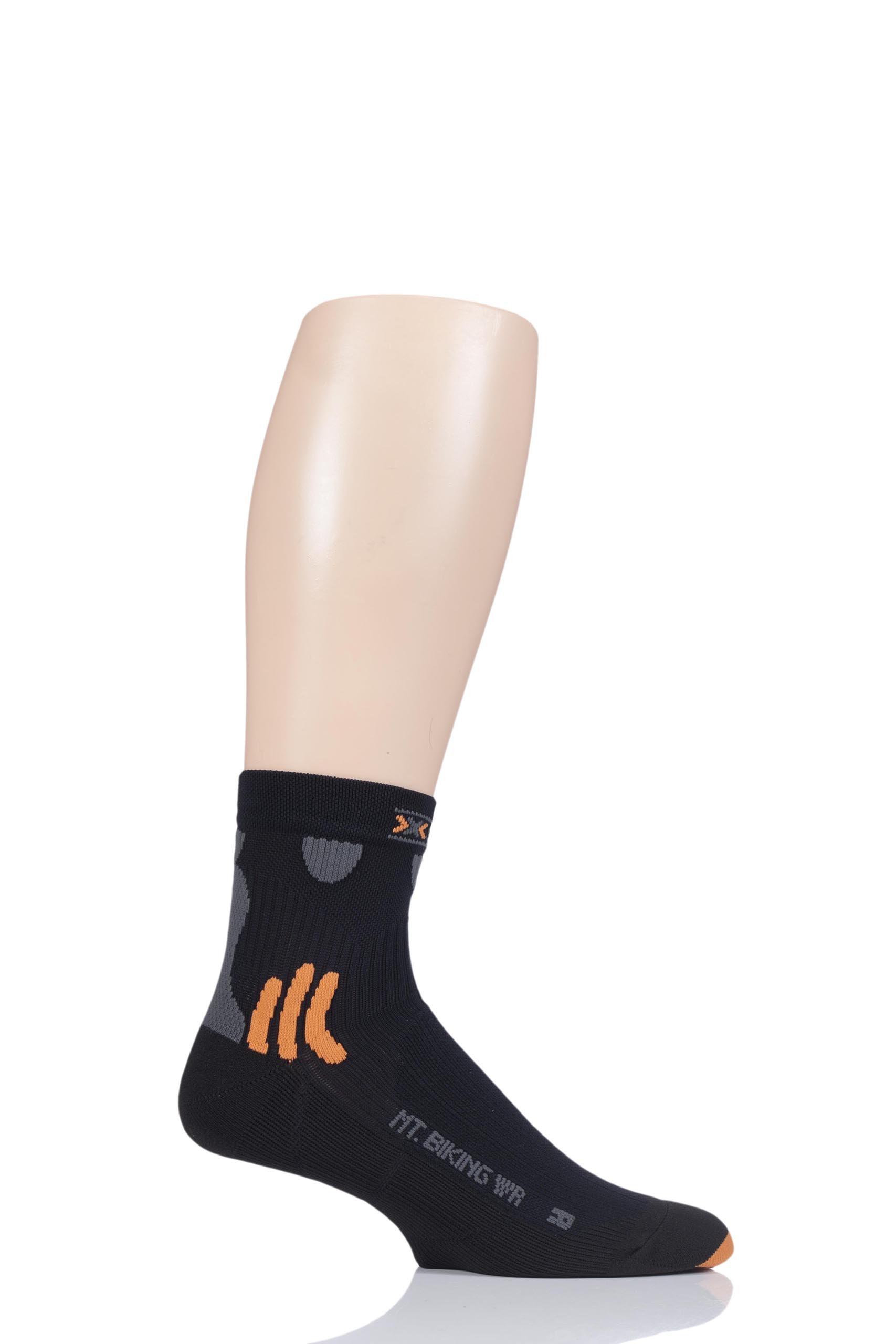 X-Socks Mountainbiking Short Water-repellent Black, Size:45/47