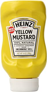 product image for Heinz Yellow Mustard 14 Ounce (Pack of 2)