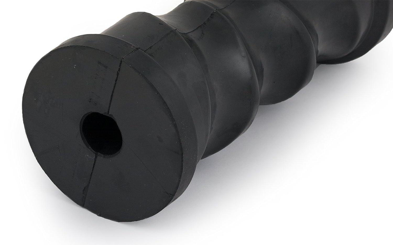 Kielrolle selbstzentrierend schwarz 153 mm Sliprolle Bootstrailer