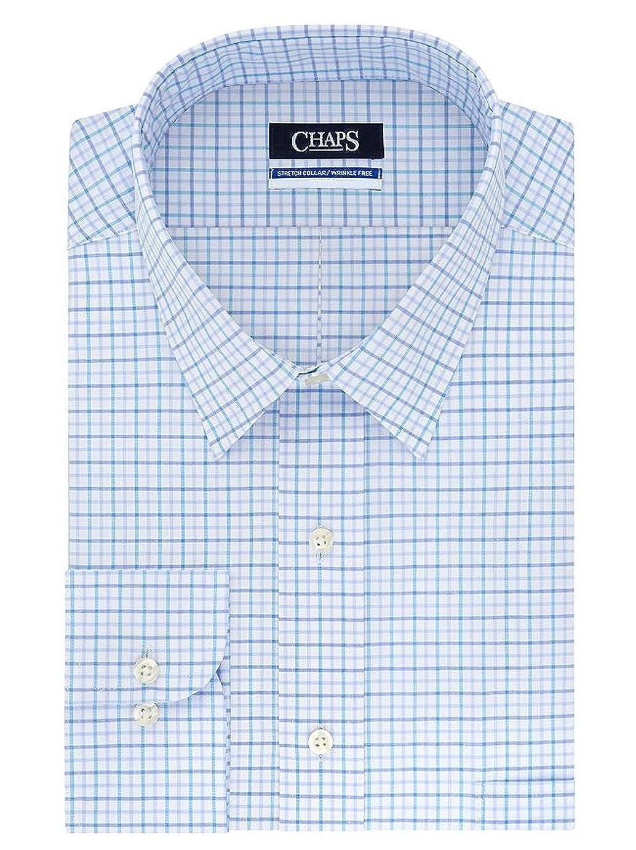 Chaps Mens Regular Fit Elite Performance Stretch Collar Dress Shirt