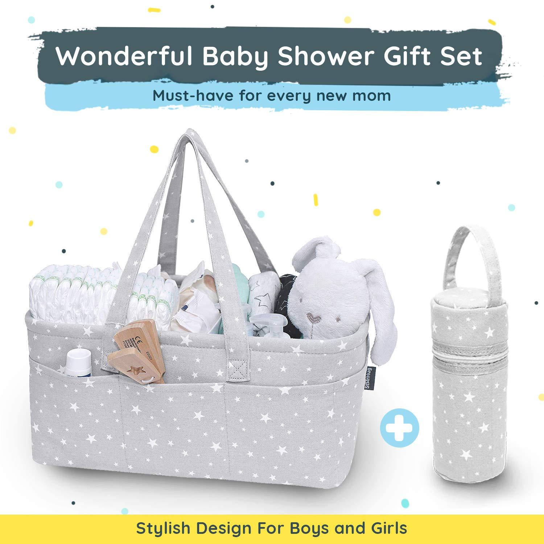 Amazon.com: StarHug – Organizador de pañales para bebé, gran ...