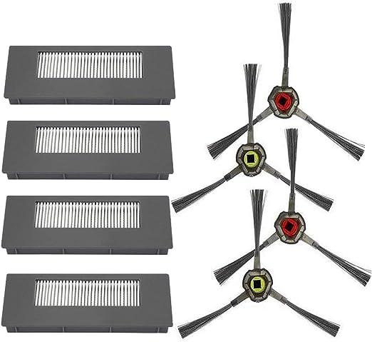 Amoy Accesorios Kit Compatible DEEBOT 900 901 Robot Aspirador Filtros y cepillos: Amazon.es: Hogar