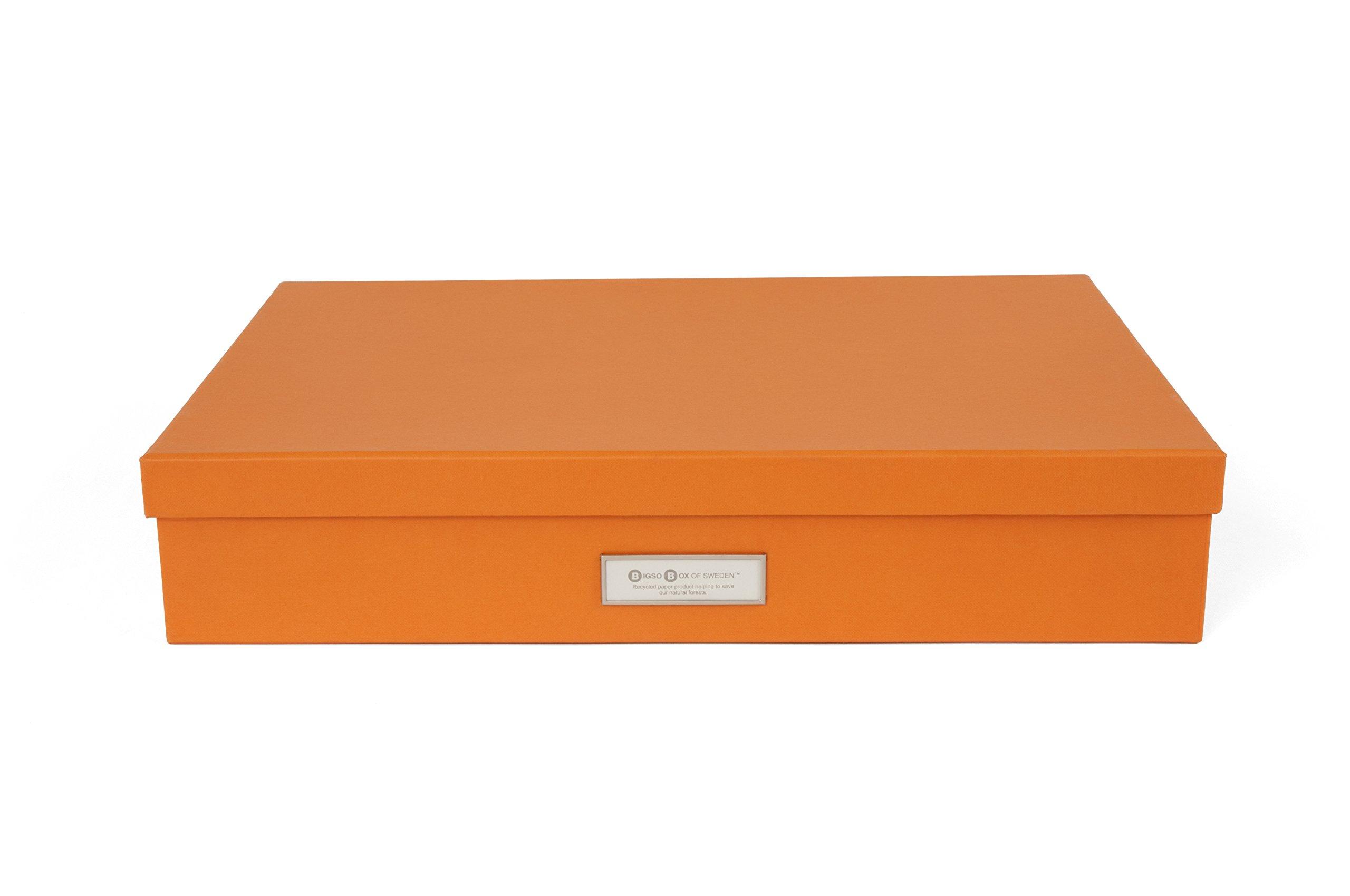 Bigso Sverker Document Storage Box, Orange by Bigso (Image #3)