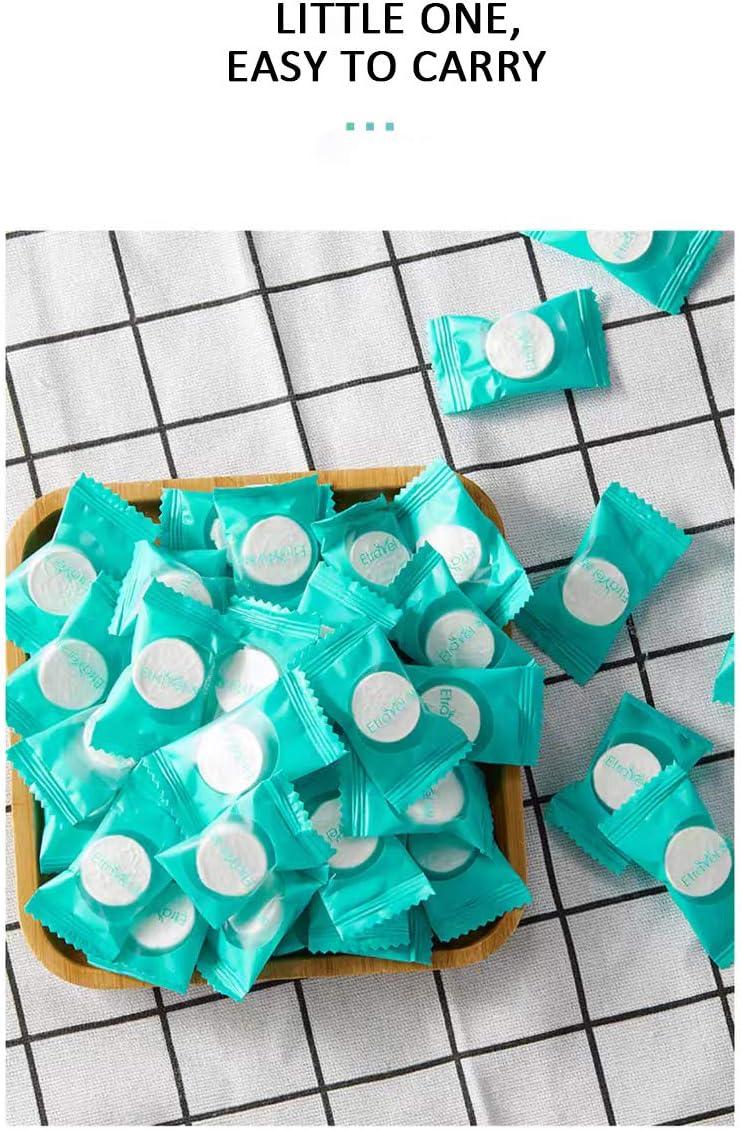 50PCS Compressed Towels Cotton Disposable Towels 50PCS Portable Mini Face Towels Perfect for Travel Outdoor