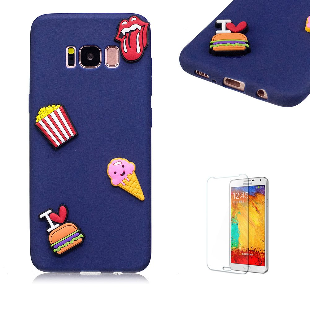 For Samsung Galaxy S8 Plus Case.Funyye Cute 3D Candy Colorful Series Design Soft Silicone Back Case Cover for Samsung Galaxy S8 Plus-Watermelon FUNYYE0028872