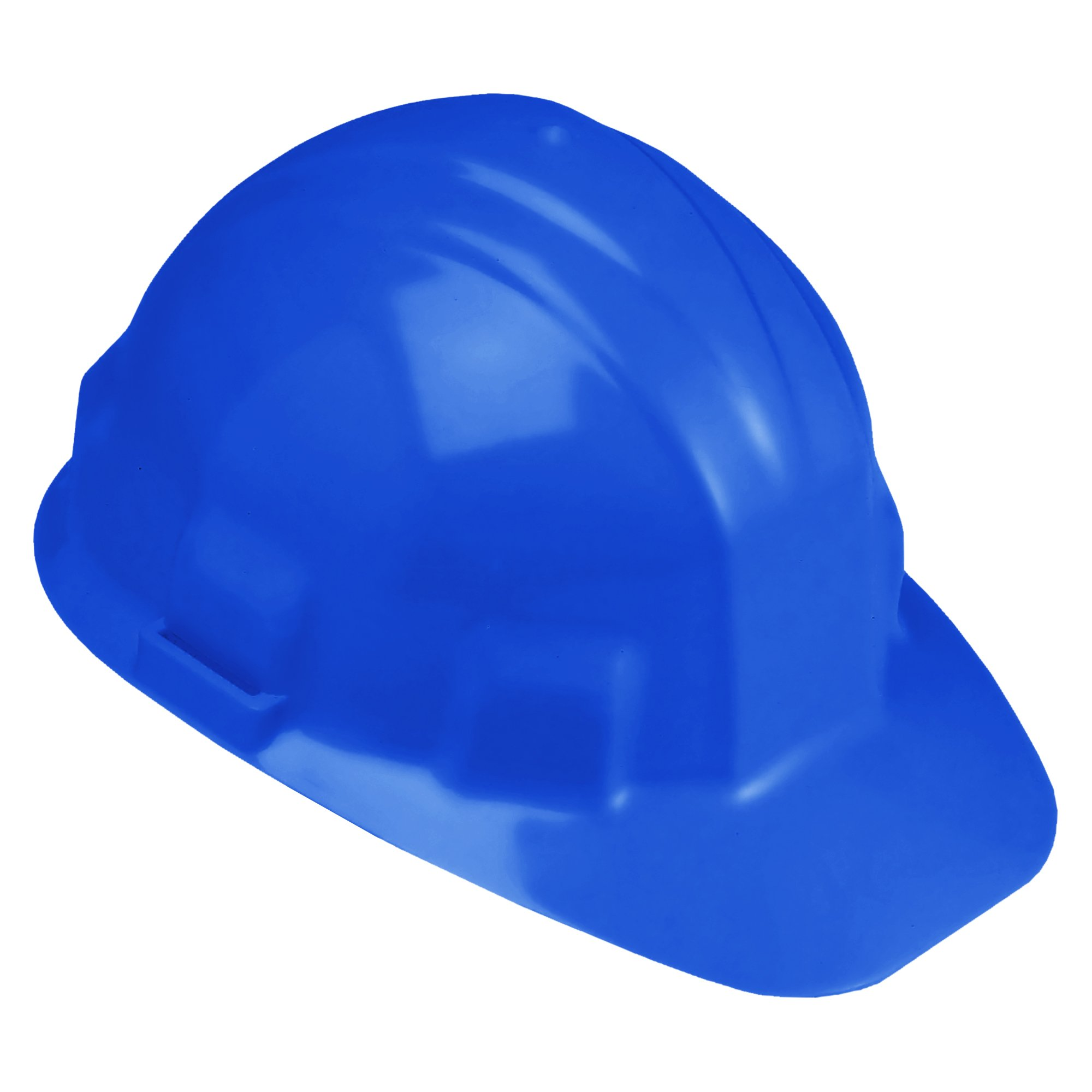 Jackson Safety Sentry III Hard Hat (14416), 6-Point Ratchet Suspension, Low Profile Safety Cap, Blue, 12 / Case