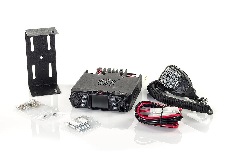 VHF 400-520mhz Mobile Radio: 136-174mhz UHF Amateur BTECH Mobile UV-50X2 50 Watt Dual Band Base Ham