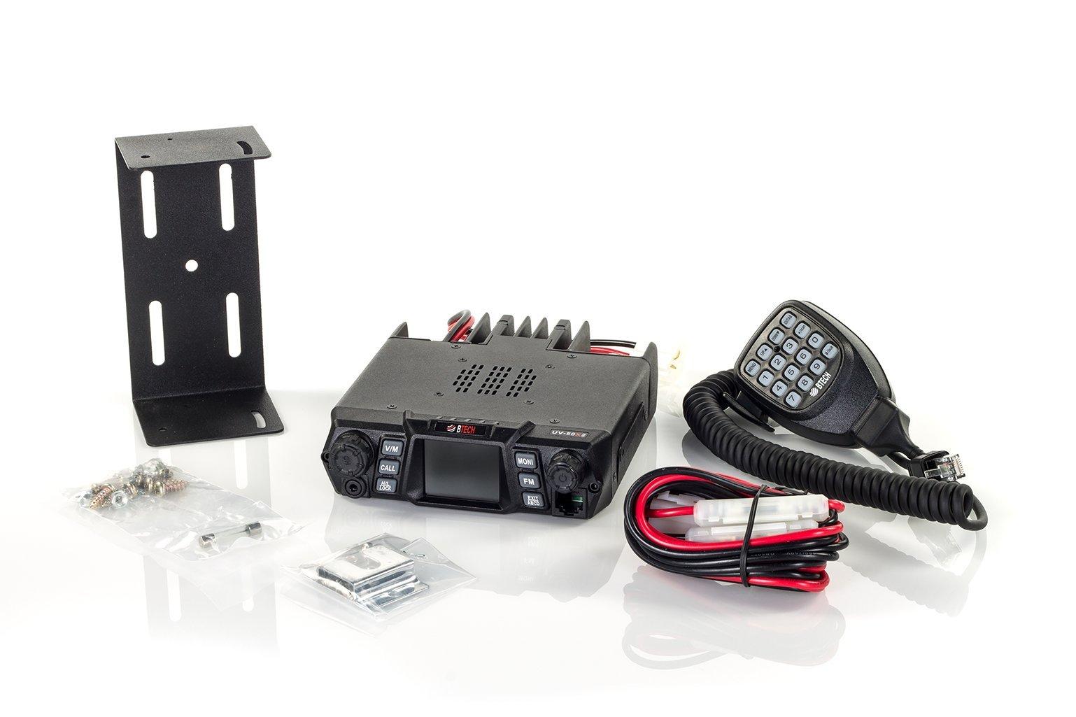 BTECH MOBILE UV-50X2 50 Watt Dual Band Base, Mobile Radio: 136-174mhz (VHF) 400-520mhz (UHF) Amateur (Ham) by BTECH (Image #4)