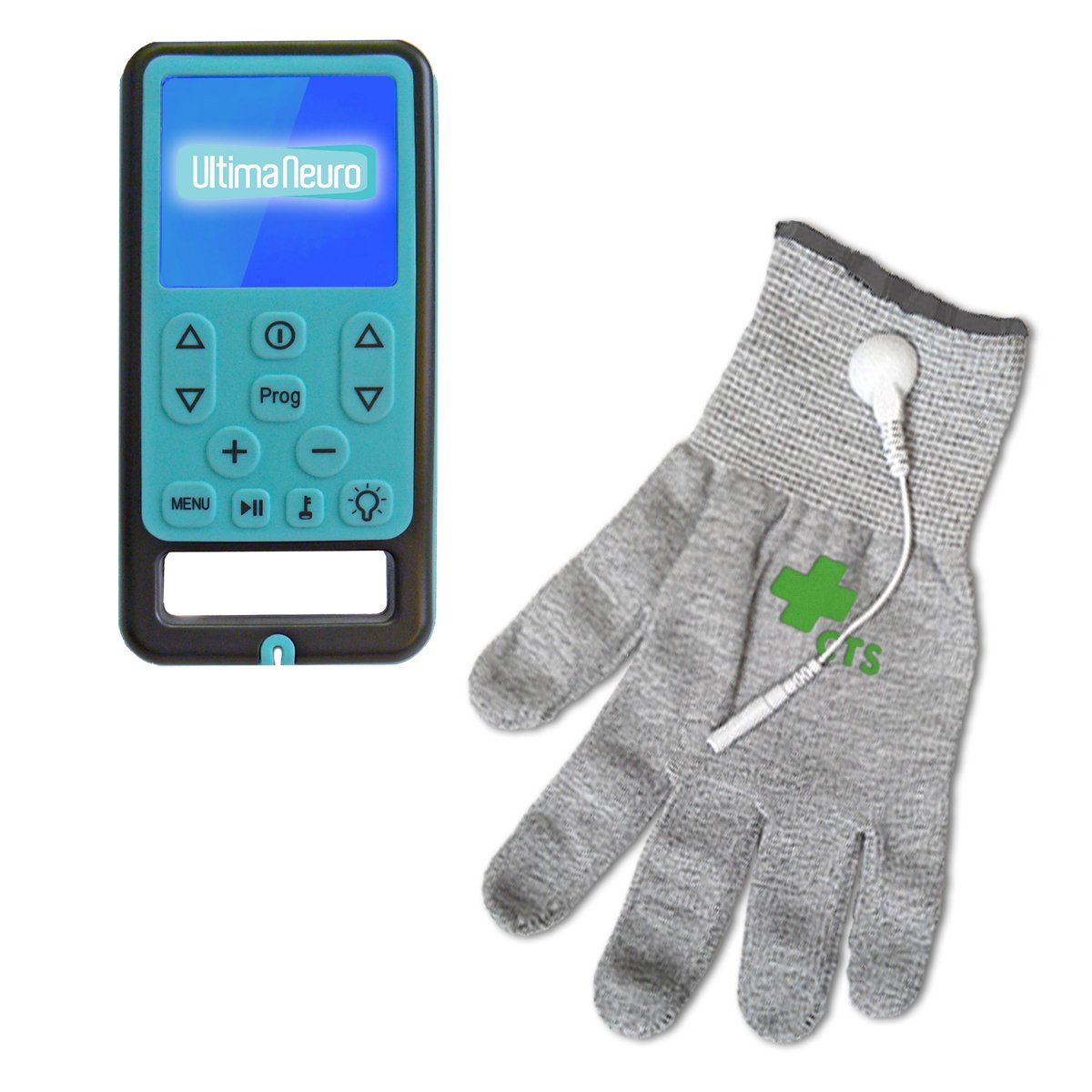 Ultima Neuro Neuropathy Treatment System for Relief of Peripheral, Diabetic & Poly Neuropathy Nerve Pain with Conductive Glove (XS-S) by Ultima Neuro & Conductive Therapy Shop