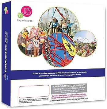 NJOY Experiences - Caja Regalo - PORTAVENTURA World - 1 Dia en ...