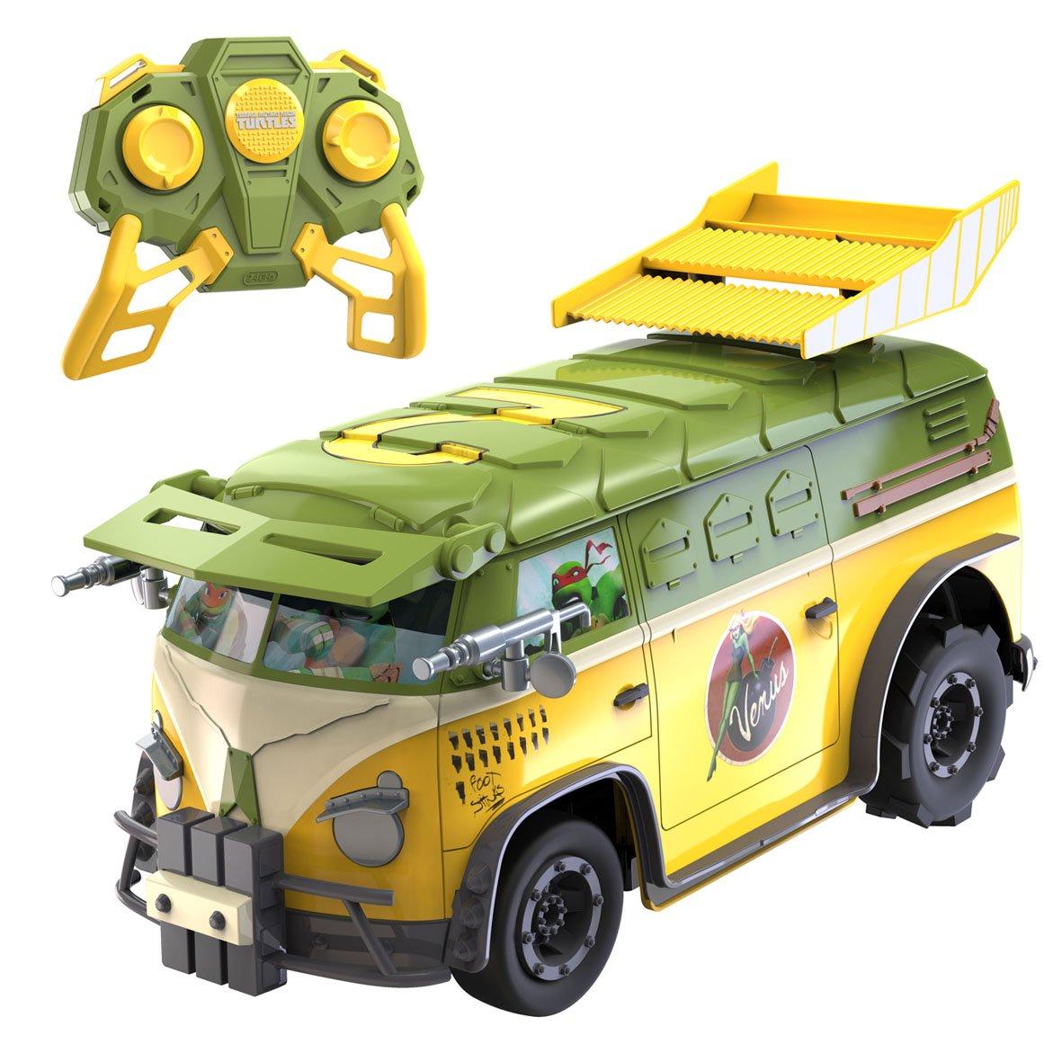 Nikko 9045 R/C Teenage Mutant Ninja Tortuga Fiesta Van ...