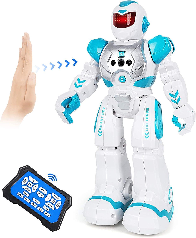 ARANEE Robot de Control Remoto, RC Robot Juguete Inteligente y programable Gestos Control Robots para Niños(Verde)