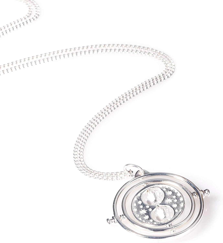 Swarovski Crystal Embellished Harry Potter Spinning Time Turner Necklace