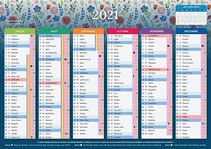 Calendrier 2021 Format A4 Calendrier 2021   Feminae   format A4   Papier épais   prévu pour