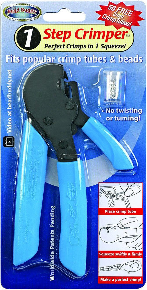 One Step Crimping Pliers for Making Jewelry