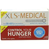 XLS Medical Appetite Reducer Diet Pills - Pack of 60